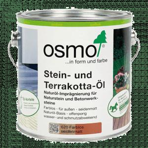 Osmo Steen en terracotta olie