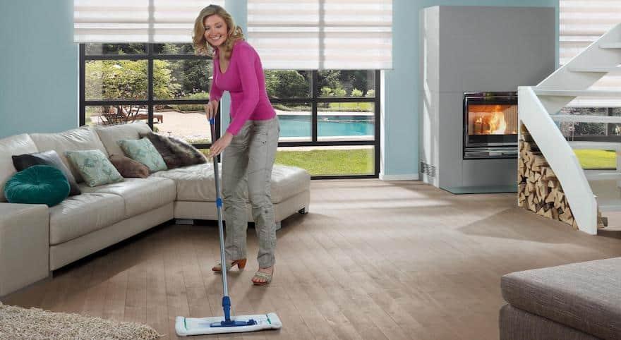 Eiken houten vloer schoonmaken
