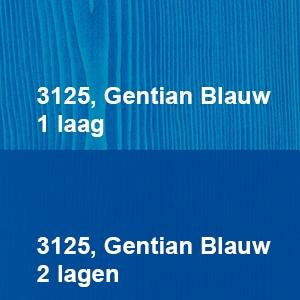 Osmo Decorwas Creativ 3125 Gentian Blauw Kleurvoorbeeld