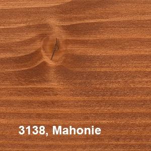 Osmo Decorwas Transparant 3138 Mahonie Kleurvoorbeelden