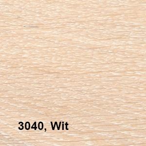 Osmo Hardwax-Olie Farbig 3040 Wit Kleurvoorbeeld