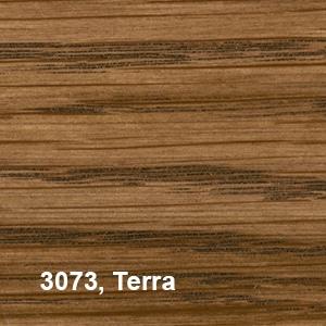 Osmo Hardwax-Olie Farbig 3073 Terra Kleurvoorbeeld