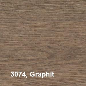 Osmo Hardwax-Olie Farbig 3074 Graphit Kleurvoorbeeld