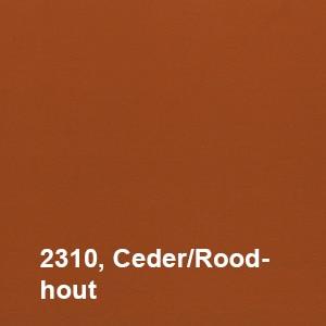 Osmo Landhuisverf 2310 Ceder/Rood hout Kleurvoorbeeld