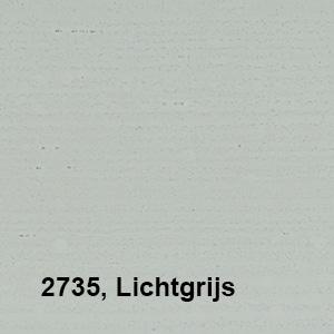 Osmo Landhuisverf 2735 Lichtgrijs Kleurvoorbeeld