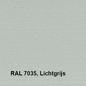 Osmo Landhuisverf RAL 7035 Lichtgrijs Kleurvoorbeeld