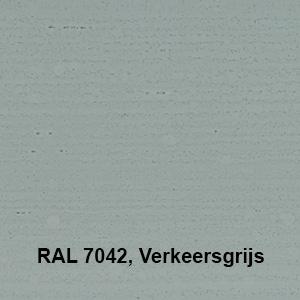 Osmo Landhuisverf RAL 7042 Verkeersgrijs Kleurvoorbeeld