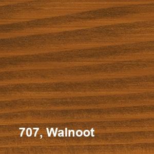 Osmo Natuurlijke Olie-Beits 707 Walnoot Kleurvoorbeeld