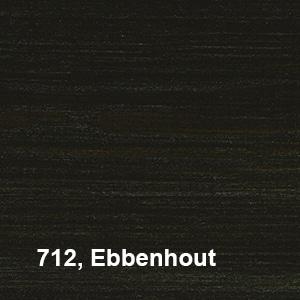 Osmo Natuurlijke Olie-Beits 712 Ebbenhout Kleurvoorbeeld