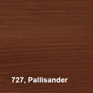 Osmo Natuurlijke Olie-Beits 727 Pallisander Kleurvoorbeeld