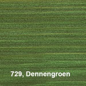 Osmo Natuurlijke Olie-Beits 729 Pallisander Kleurvoorbeeld