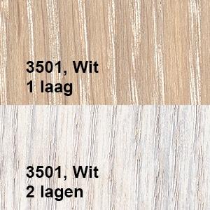 Osmo Olie-Beits 3501 Wit Kleurvoorbeeld