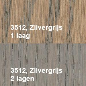 Osmo Olie-Beits 3512 Zilvergrijs Kleurvoorbeeld