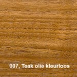 Osmo Terras-Olie 007 Teak olie kleurloos Kleurvoorbeeld