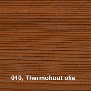Osmo Terras-Olie 010 Thermo olie Thermohout olie KLeurvoorbeeld