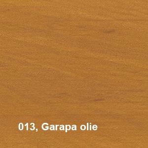 Osmo Terras-Olie 013 Garapa olie KLeurvoorbeeld
