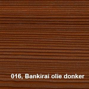 Osmo Terras-Olie 016 Bankirai olie Bangkirai olie Kleurvoorbeeld