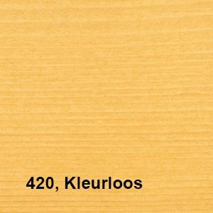 Osmo UV Beschermingsolie 420 Kleurloos Kleurvoorbeelden