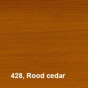 Osmo UV Beschermingsolie 428 Red Cedar Kleurvoorbeelden